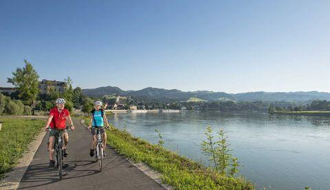 Von der Donau ins obere Mühlviertel am Grenzland-Radweg