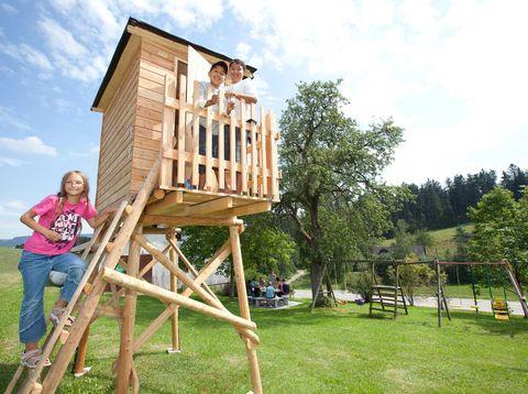 Urlaub in Neustift - Höllmühle - Spielplatz