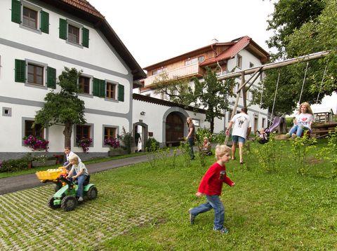 Urlaub in Neustift - Bio Bauerhof Stadler - Platz zum Spielen