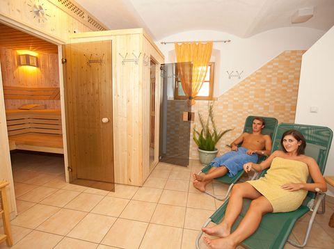 Urlaub in Neustift - Familie Rauscher - Sauna