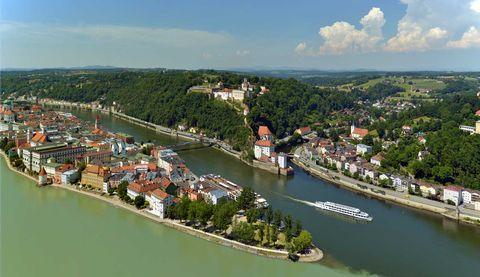 Dreiflüssestadt Passau