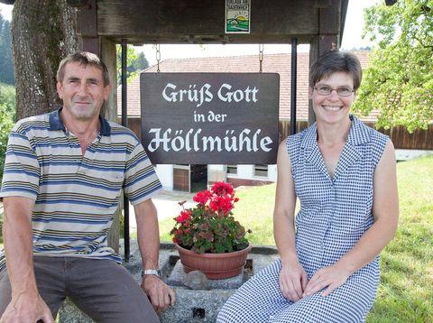 Urlaub in Neustift - Höllmühle - Familie Zinöcker