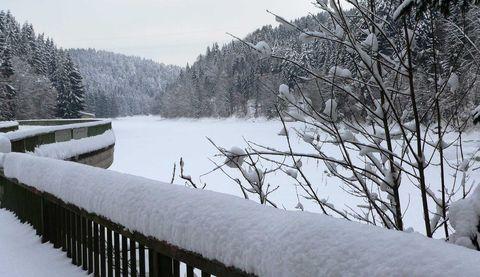 Eislaufen oder Eisstockschießen - der Winterspaß