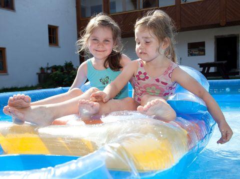 Urlaub in Neustift - Familie Rauscher - Wasserratten