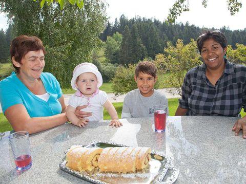 Urlaub in Neustift - Höllmühle - Nachmittagskuchen