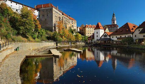 Krumau in der Tschechei