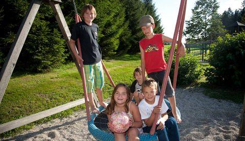 Urlaub in Neustift - Großer Kinderspielplatz