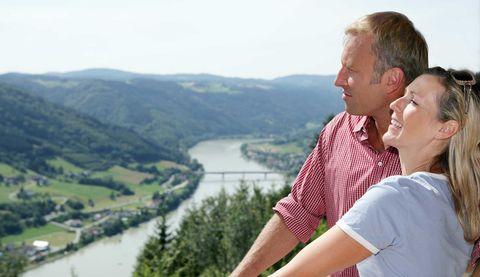 Wanderung auf der Donausteig-Etappe