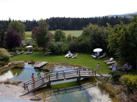 Urlaub in Neustift - Hotel Weiss - Schwimmteich