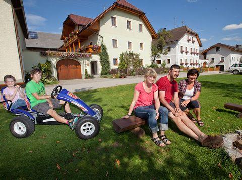 Urlaub in Neustift - Familie Rauscher - Platz zum Spielen