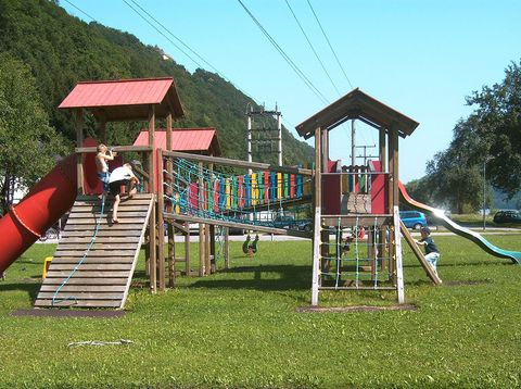 Urlaub in Neustift - Gasthof Pension Luger - Spielplatz
