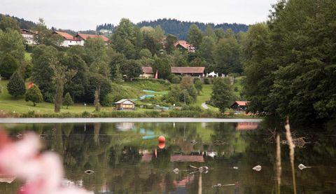 Seenweg - zwischen Ranna-Badesee und Ranna-Stausee
